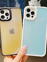 cheap -Phone Case For Apple Back Cover iPhone 12 Pro Max 11 Pro Max Shockproof Dustproof Color Gradient TPU