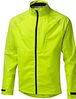 cheap -Men's Cycling Jacket Summer Bike Top Quick Dry Moisture Wicking Sports Solid Color Blue / Green / Black Clothing Apparel Bike Wear / Long Sleeve / Micro-elastic / Athleisure