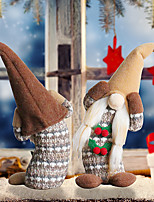 cheap -new stooped faceless doll ornaments cherry dwarf old man plush doll holiday decorations