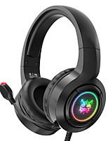 cheap -X1 Gaming Headset USB 3.5mm Audio Jack PS4 PS5 XBOX Ergonomic Design Retractable Stereo for Apple Samsung Huawei Xiaomi MI  Everyday Use PC Computer Gaming