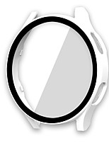 cheap -Cases For Samsung Galaxy Galaxy Watch 4 44mm PC Screen Protector Smart Watch Case Compatibility 44mm