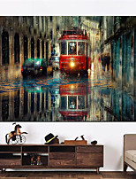 cheap -Wall Art Canvas Prints Landscape City ViewHome Decoration Decor Rolled Canvas No Frame Unframed Unstretched