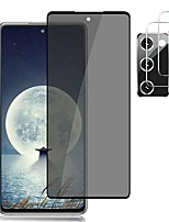 cheap -[1+2 camera lens protector] galaxy s20 fe privacy screen protector tempered glass anti spy, 9h hardness,easy lnstall samsung galaxy s20 fe (6.5 inch) hd glass protector