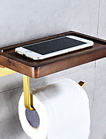 cheap -Toilet Paper Holder New Design / Creative / Multifunction Contemporary / Modern Wood Bathroom / Hotel bath Wall Mounted