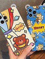 cheap -Phone Case For Apple Back Cover iPhone 12 Pro Max 11 X XR XS Max iphone 7Plus / 8Plus Shockproof Dustproof Cartoon TPU