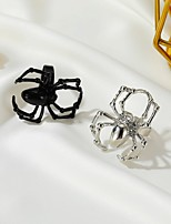 cheap -Ring Retro Silver Black Alloy Spiders Stylish Rustic / Lodge Colorful 1pc / Women's / Men's