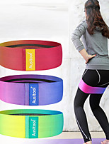 cheap -Booty Bands Exercise Resistance Bands Pilates Resistance Band and Toning Bar Sports Knit Yoga Fitness Gym Workout Portable Non Toxic Stretchy Butt Lift Lift, Tighten And Reshape The Plump Buttock