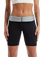 cheap -Shapewear Sauna Pants Slimming Sportwear Weight Loss Silver Coating Sweat Leggings Body Shaper Waist Trainer Workout Shape Slim
