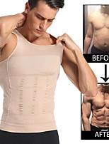 cheap -Men Slimming Shapewear Body Shaper Waist Trainer Vest Tummy Control Posture Shirt Back Correction Tummy Tank top Shaperwear