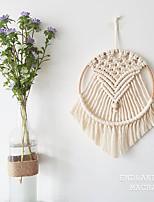cheap -Boho Dream Catcher Handmade Gift Wall Hanging Decor Art Ornament Crafts Woven Macrame For Kids Bedroom Wedding Festival 23*32cm