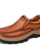 cheap -Men's Loafers & Slip-Ons Daily PU Gray Black Brown Fall Spring