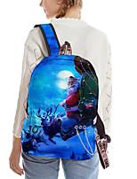 cheap -School Bag Christmas Daypack Bookbag Laptop Backpack with Multiple Pockets for Men Women Boys Girls 28*16*42cm