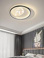 cheap -Flush Mount Ceilling Light Circle Design Metal Modern Style LED Lighting Fixture For Hallway Bathroom Kitchen or Stairwell  110-240V