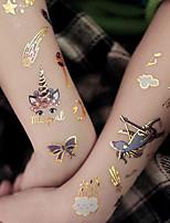 cheap -20 PCS Tattoo Face Temporary Tattoo Child Tattoo Sticker Body Tatoo For Kids Cute Tattoo Children Tattoos Fake Taty