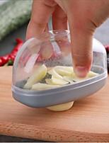 cheap -Stainless Steel Garlic Press Manual Garlic Cutter Mincer Chopping Kitchen Ginger Cutter Minced Garlic Storage Tools
