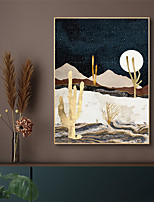 cheap -Wall Art Canvas Prints Painting Artwork Picture Landscape Sunrise Sunset Gold Home Decoration Dcor Rolled Canvas No Frame Unframed Unstretched