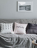 cheap -Double-sided Printing Velvet Pillowcase Korean Style Simple Dutch Velvet Sofa Pillow Pillowcase