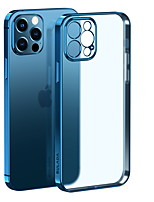 cheap -Phone Case For Apple Back Cover iPhone 13 12 Pro Max 11 SE 2020 X XR XS Max 8 7 Shockproof Dustproof Transparent Transparent TPU