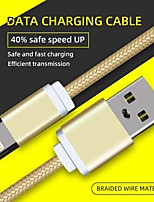 cheap -Micro USB Cable Charging cable 5 A 1.0m(3Ft) Nylon For Samsung Xiaomi Huawei Phone Accessory
