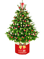 cheap -Christmas Decorations Christmas Tree Bottom Box Base Foot Cover Non-Woven Storage Box