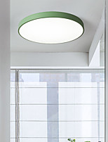 cheap -40 cm Ceiling Lights Dimmable Flush Mount Lights Metal Stylish Painted Finishes Modern 110-240 V