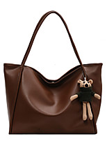 cheap -Women's Bags PU Leather Crossbody Bag Zipper Solid Color Daily Outdoor Leather Bag Khaki Black Brown
