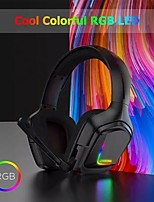 cheap -Onikuma K20 Gaming Headset with Mic Stereo Surround Sound with Noise Cancelling Mic with Mute & Volume Control Lightweight Ergo
