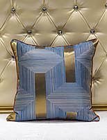cheap -1 pcs Velvet Synthetic Pillow Cover, Art Deco 3D Luxury Modern Square Zipper Traditional Classic