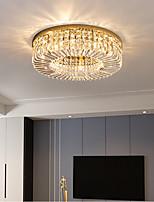 cheap -Morden Crystal Flush Mount Ceilling Lights Metal LED Nordic Style 220-240V