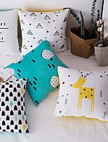 cheap -Scandinavian Design Simple Letter Printing Pillow Cushion Cover Office Sofa Bedside Car Waist Support