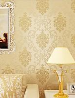 cheap -Wallpaper Wall Covering Sticker Film Modern Water ripple floral non Woven Home Decor 53*1000cm