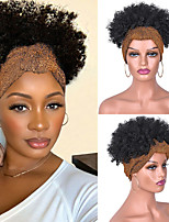 cheap -Synthetic Wig Curly Afro Curly Asymmetrical Wig Short A1 A2 A3 A4 A5 Synthetic Hair Women's Cosplay Soft Party Black Brown