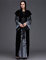 cheap -Vampire Dress Cosplay Costume Adults' Women's Halloween Halloween Halloween Carnival Festival / Holiday Terylene Black Women's Easy Carnival Costumes Skull