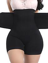 cheap -Firm Tummy Control Shapewear Shorts Waist Trainer Shaper High-Waist Butt Lifter Thigh Slimmer Horts Tummy Control Brief
