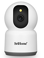 cheap -SriHome SH038 IP Security Cameras 4MP dome WIFI Wireless Motion Detection Wi-Fi Protected Setup Night Vision Indoor Outdoor Apartment Support 128 GB