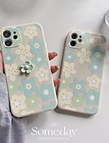 cheap -Phone Case For Apple Back Cover iPhone 12 Pro Max 11 SE 2020 X XR XS Max 8 7 Shockproof Dustproof Flower TPU