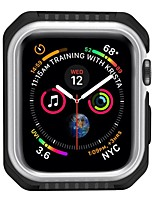 cheap -Cases For Apple iWatch Apple Watch Series 7 / SE / 6/5/4/3/2/1 / Apple Watch Series 6 / SE / 5/4 44mm / Apple Watch Series  6 / SE / 5/4 40mm TPU Screen Protector Smart Watch Case Compatibility