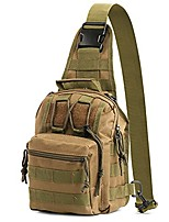 cheap -camping shoulder bag,waterproof military chest bag small molle shoulder messenger backpack lightweight sling chest pack mini camping bag pack for sport outdoor hiking climbing hunting