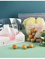 cheap -30pcs Set Reusable Fresh Zip Bag Freezing Heating Food Wrap Storage Bag Zip Lock Poly Bags Kitchen Accessories