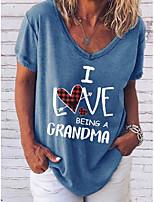 cheap -short sleeve i love being a grandma shirt & top