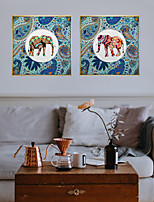 cheap -Wall Art Canvas Prints Painting Artwork Picture Animal Abstract Colorful Home Decoration Dcor Rolled Canvas No Frame Unframed Unstretched