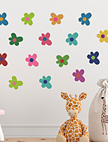 cheap -cartoon color small flowers children's bedroom entrance wall beautification decorative wall stickers self-adhesive