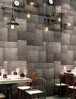 cheap -Wallpaper Wall Covering Sticker Film Peel and Stick Removable Modern Industrial style Non Woven Home Decor 53*1000cm