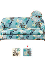 cheap -1 Set of 2 Pieces Floral Printed Stretch Couch Covers Sofa Slipcover Protector Cover Include Individual Seat Cushion Cover for 1~4 Cushion Seater for Living Room Machine Washable