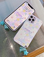 cheap -Phone Case For Apple Back Cover iPhone 12 Pro Max 11 X XR XS Max iphone 7Plus / 8Plus Shockproof Dustproof Flower TPU