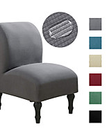 cheap -Armless Chair Slipcovers Water-Repellent Chair Covers Stretch Couch Cover Removable Furniture Protector Covers for Home Hotel