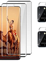 """cheap -galaxy s20 plus 5g screen protector with camera lens protective film, 9h tempered glass, 3d full coverage, ultrasonic fingerprint unlock, for samsung s20 plus/s20+ 6.7""""hd clear glass (4 pack)"""