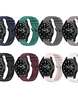 cheap -compatible with samsung galaxy watch 4 band 40mm 44mm/ galaxy watch 4 classic bands 42mm 46mm,20mm silicone replacement strap band compatible with samsung galaxy watch 3 41mm (8 in 1)