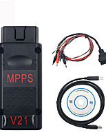 cheap -OBD Newest MPPS V21 MAINTRICOREMULTIBOOT with Breakout Tricore Cable Better Than MPPS V18 MPPS V16 OBD2 ECU Chip Tuning Scanner
