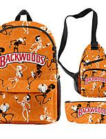 cheap -School Bag Halloween Daypack Bookbag Laptop Backpack with Multiple Pockets for Men Women Boys Girls 44*26*15/21*9/33*19.5*8cm
